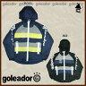 【SALE21%OFF】goleador【ゴレアドール】中綿 Mega Zip フードジャケット〈セール サッカー フットサル〉G-1550