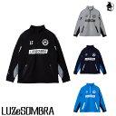 LUZ e SOMBRA/LUZeSOMBRA【ルースイソンブラ】P100 SWEAT HALF ZIP TOP〈フットサル サッカー スウェット ハーフジップ ジャージ〉F2011112