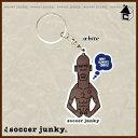 Soccer Junky【サッカージャンキー】ジャンブッテスカ キーホルダー〈サッカー フットサル カラビナ〉SJPK069