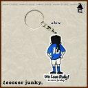 Soccer Junky【サッカージャンキー】Fantasista history キーホルダー〈サッカー フットサル カラビナ〉SJPK077