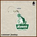 Soccer Junky【サッカージャンキー】RONNIE キーホルダー〈サッカー フットサル カラビナ〉SJPK110
