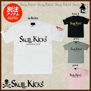 SKULLKICKS スカルキックス paterna×SKULLKICKS コラボロゴプラクティス Tシャツ サッカー フットサル プラシャツ ユニフォーム