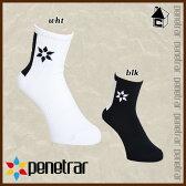 penetrar【ペネトラール】ラインショートソックス〈フットサル サッカー ゲームソックス ストッキング 靴下〉263-29322
