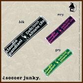 Soccer Junky【サッカージャンキー】マフラータオル〈デリシャスフットボール スポーツ パンディアーニ君〉CP17056