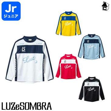LUZ e SOMBRA/LUZeSOMBRA【ルースイソンブラ】Jr BROADLINE PRA SHIRT〈サッカー フットサル 長袖 ロング ゲームシャツ ジュニア 子供用〉F1821006