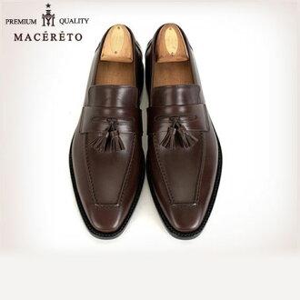商务鞋皮革拖鞋 Macereto (时尚鞋鞋鞋绅士男士男装鞋男士鞋业务皮革皮革怎么了皮革鞋男人)
