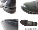 サイドゴアブーツ(ブラック)LondonShoeMake(ロンドンシューメイク)グッドイヤーメンズ本革レザーショートブーツ