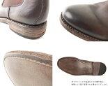 サイドゴアブーツブーツ(ダークブラウン)LondonShoeMake(ロンドンシューメイク)グッドイヤーメンズ本革レザーショートブーツ