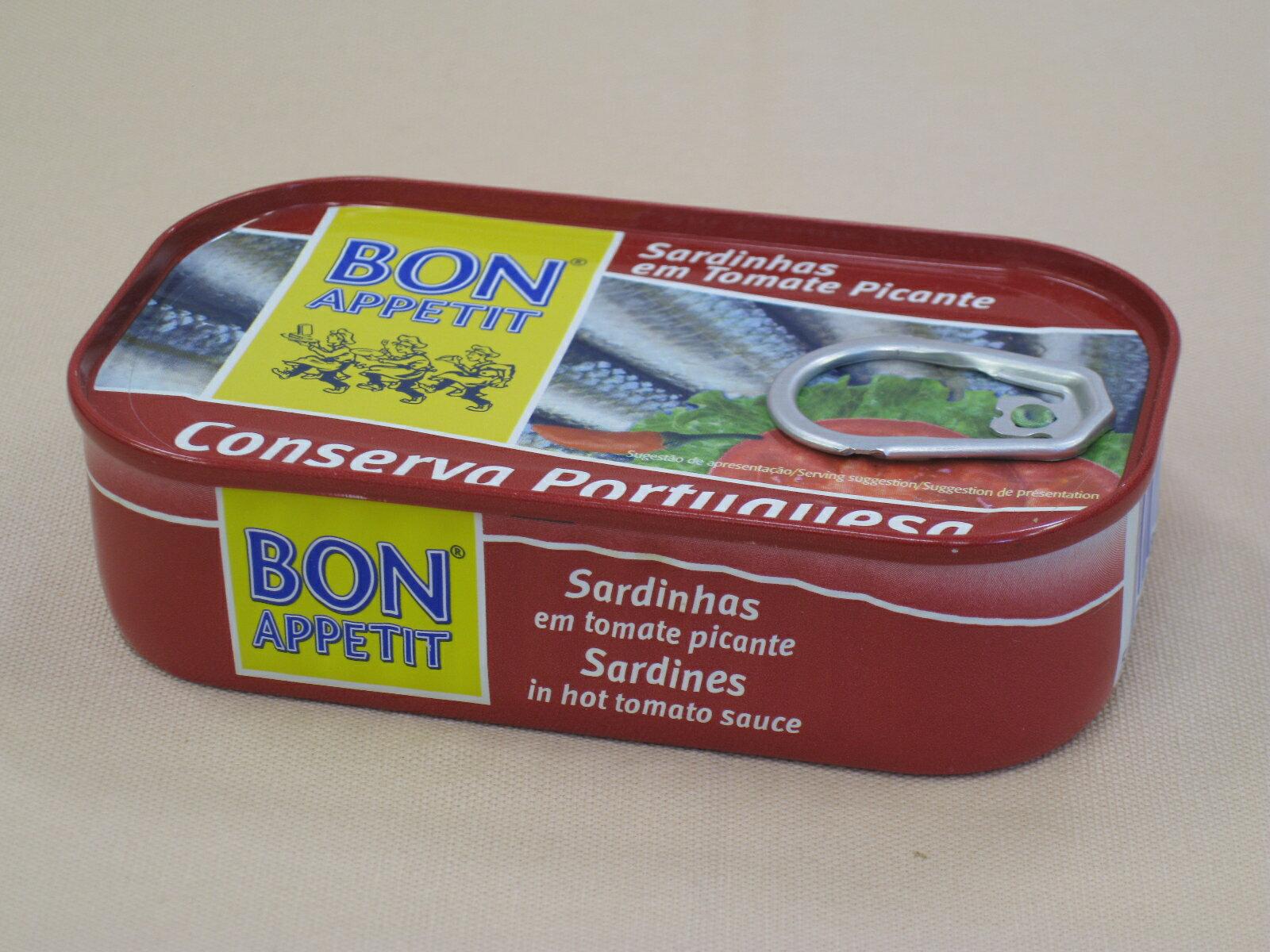 海の幸瓶缶詰>イワシの缶詰>オイルサーディン(スパイシートマトソース煮)