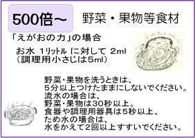 『えがおの力(旧松の力)200ml』/『まさおくんのココナッツ洗剤200ml』【お得なお試しセット】[送料無料][1000円ポッキリ]