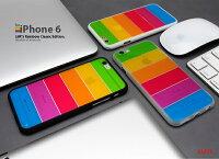 【LIM'S社製】iPhone6iPhone6s/5/5s/SEレインボーケース【iPhone5iphone5sカバーiPhoneSEアイフォン6sアイフォン6アイフォン5siphone5siphone5アイフォン5】