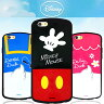 【 Disney / ディズニー 】iPhone6 iPhone6s / 6PLUS 6sPlus / 5 5s SE Disney BACK HUG BUMPER CASE【 ケース カバー iphone 6 plusケース iphone5 iPhoneSE アイフォン6 アイフォン6プラス ミッキー ミニー ドナルド デイジー】