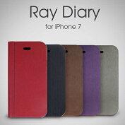 RayDiaryCASEforiPhone7【アイフォン7アイホン7手帳手帳型ケースカバースマホ】