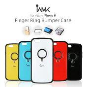 iPhone6/iPhone6s[4.7インチ]iAMKフィンガーリングバンパーケース落下防止リング!スタンド機能!iCカード収納可能!【アイフォン6アイフォン6sアイホン6カバースマホリングスマートフォン】
