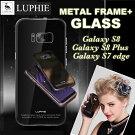 GalaxyS7edgeケースGalaxyNote5ケースGalaxyS7Edgeケース【送料無料】LUPHIE正規品9H強化ガラス航空アルミギャラクシーs7galaxyブランドアイフォン6sスマートフォンケース