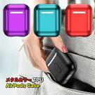 airpodsケースカバーイヤホン収納メタル【送料無料】iphoneappleアップルプレゼントギフト4種かわいいカラーエアポッズ