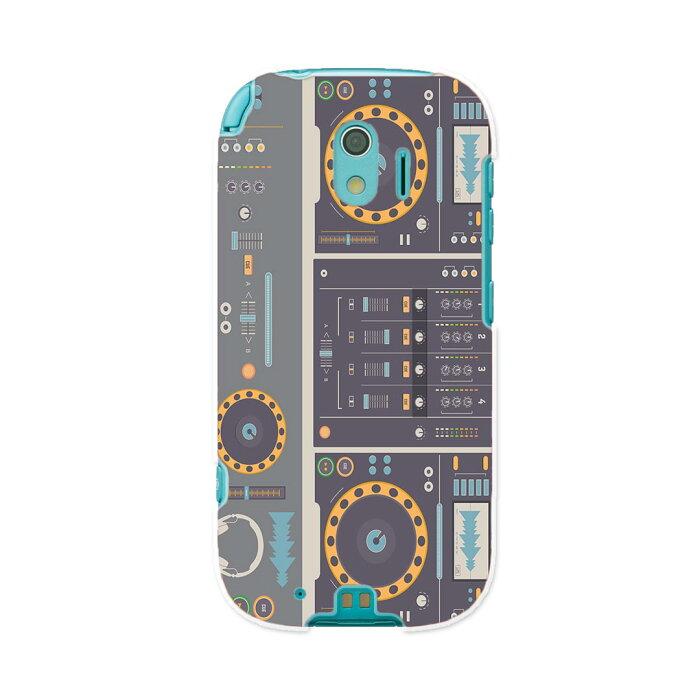 F-03K らくらくスマートフォン me docomo ドコモ f03k スマホ カバー ケース スマホケース スマホカバー PC ハードケース 012903 ラジカセ 機械 音楽