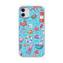 iPhone11 pro 5.8 インチ 専用 ソフトケース docomo ドコモ ソフトケース スマホカバー スマホケース ケース カバー tpu 003569 ユニーク 海 動物 キャラクター