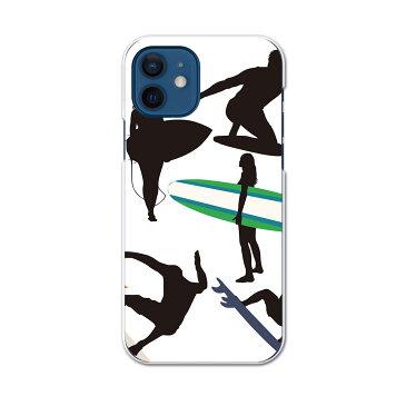 iPhone12 6.1インチ 専用 各キャリア iPhone 12 / iPhone12 Pro 共通対応 ドコモスマホ カバー ケース スマホケース スマホカバー PC ハードケース 013749 サーフィン スポーツ 人物