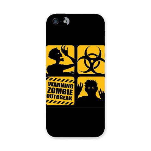 iphone5au iPhone 5 アイフォーン APPLE au エーユー スマホ カバー 全機種対応 あり ケース スマホケース スマホカバー TPU ソフトケース ゾンビ ハロウィン ユニーク 001202