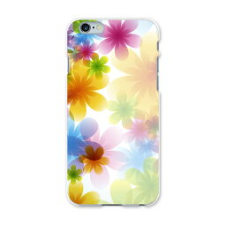 iPhone6plus iPhone6 plus アイフォーン APPLE softbank ソフトバンク スマホ カバー ケース スマホケース スマホカバー TPU ソフトケース 花 フラワー カラフル クール 002083