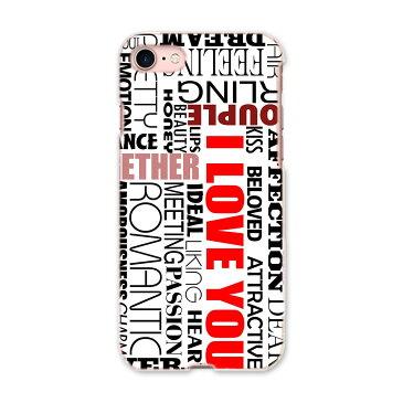 iphone7 iphone 7 アイフォーン 7 softbank ソフトバンク スマホ カバー 全機種対応 あり ケース スマホケース スマホカバー PC ハードケース 英語 文字 赤 クール 005852