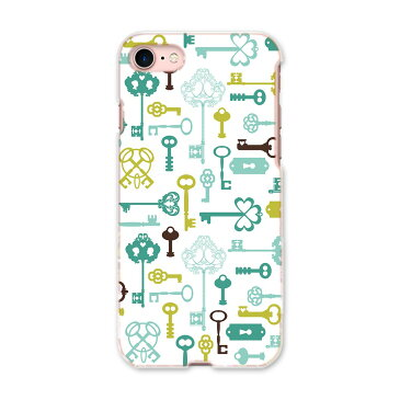iphone8 iphone 8 アイフォーン softbank ソフトバンク スマホ カバー 全機種対応 あり ケース スマホケース スマホカバー TPU ソフトケース 005961 鍵 模様