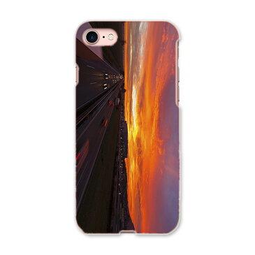 iphone8 iphone 8 アイフォーン softbank ソフトバンク スマホ カバー スマホケース スマホカバー TPU ソフトケース 014962 風景 自然 背景 夜空 夕日