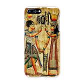 iphone7plusケース 【期間限定半額セール】 iphone7plus ケース カバー 全機種対応 あり iphone7plus ケース スマホケース スマホカバー ハードケース iphone 7 plus アイフォーン エジプト 壁画 写真・風景 001535 APPLE