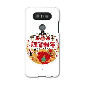 L-01J V20 PRO Electronics LG Electronics l01j docomo docomo Estuche para teléfono inteligente Estuche para teléfono inteligente Estuche para teléfono inteligente Estuche rígido para PC Año Nuevo Kadomatsu Dharma 013557