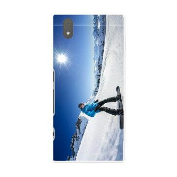 MO-01K MONO mo01k docomo ドコモ スマホ カバー ケース スマホケース スマホカバー PC ハードケース スノーボード 雪景色 雪 スポーツ スポーツ 000286