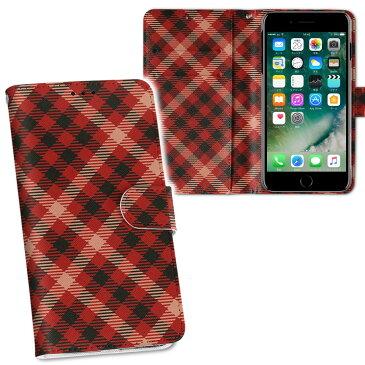 iphone Xs iPhone 10s アイフォーン エックスエス テンエス iphonexs softbank docomo au 両面プリント 裏表 内側 内面 スマホ カバー ケース 手帳タイプ フリップ ダイアリー 二つ折り フルデザイン 000891 チェック 赤