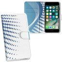 iPhone11 6.1インチ 専用 iphone 11 アイフォン softbank docomo au 両面プリント 裏表 内側 内面 スマホ カバー レザー ケース 手帳タイプ フリップ ダイアリー 二つ折り 革 フルデザイン 001755 クール ライン 水玉