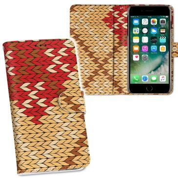 iphone7 iphone 7 softbank ソフトバンク 両面プリント 裏表 内側 内面 スマホ カバー レザー ケース 手帳タイプ フリップ ダイアリー 二つ折り 革 フルデザイン 003926 チェック 赤 ブラウン