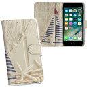 iPhone11 6.1インチ 専用 iphone 11 アイフォン softbank docomo au 両面プリント 裏表 内側 内面 スマホ カバー レザー ケース 手帳タイプ フリップ ダイアリー 二つ折り 革 フルデザイン 004580 写真・風景 マリン 貝殻 写真