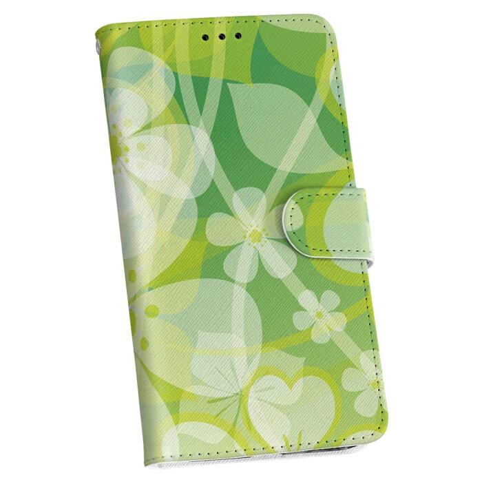 L-01F G2 l01f docomo ドコモ カバー 手帳型 全機種対応 あり カバー レザー ケース 手帳タイプ フリップ ダイアリー 二つ折り 革 花 植物 フラワー 001312