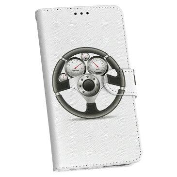 HTV32 HTC 10 au HTC エイチティーシー htv32 au エーユー 手帳型 スマホ カバー レザー ケース 手帳タイプ フリップ ダイアリー 二つ折り 革 スポーツ 車 ハンドル イラスト 002757