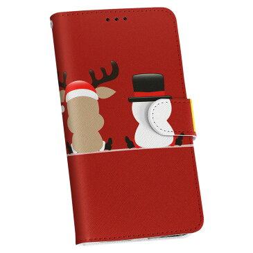 SC-01G GALAXY Note Edge ギャラクシー ノート エッジ sc01g docomo ドコモ 手帳型 スマホ カバー 全機種対応 あり カバー レザー ケース 手帳タイプ フリップ ダイアリー 二つ折り 革 その他 イラスト クリスマス 005512