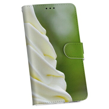 iphone8plus iphone 8 plus アイフォーン softbank ソフトバンク 手帳型 スマホ カバー レザー ケース 手帳タイプ フリップ ダイアリー 二つ折り 革 写真・風景 写真 アイス 005929