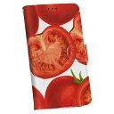 iphone6 iphone 6 アイフォーン softbank ソフトバンク 手帳型 スマホ カバー ケース 手帳タイプ フリップ ダイアリー 二つ折り 革 ユニーク 野菜 トマト 赤 レッド 模様 008422