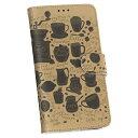 iPodtouch6 ipodtouch6 アイポットタッチ6 softbank ソフトバンク カバー 手帳型 カバー レザー ケース 手帳タイプ フリップ ダイアリー 二つ折り 革 カフェコーヒー英語 010208