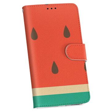iphone6plus iphone 6 plus アイフォーン softbank ソフトバンク 手帳型 スマホ カバー 全機種対応 あり カバー レザー ケース 手帳タイプ フリップ ダイアリー 二つ折り 革 果物 スイカ 赤 緑 010433