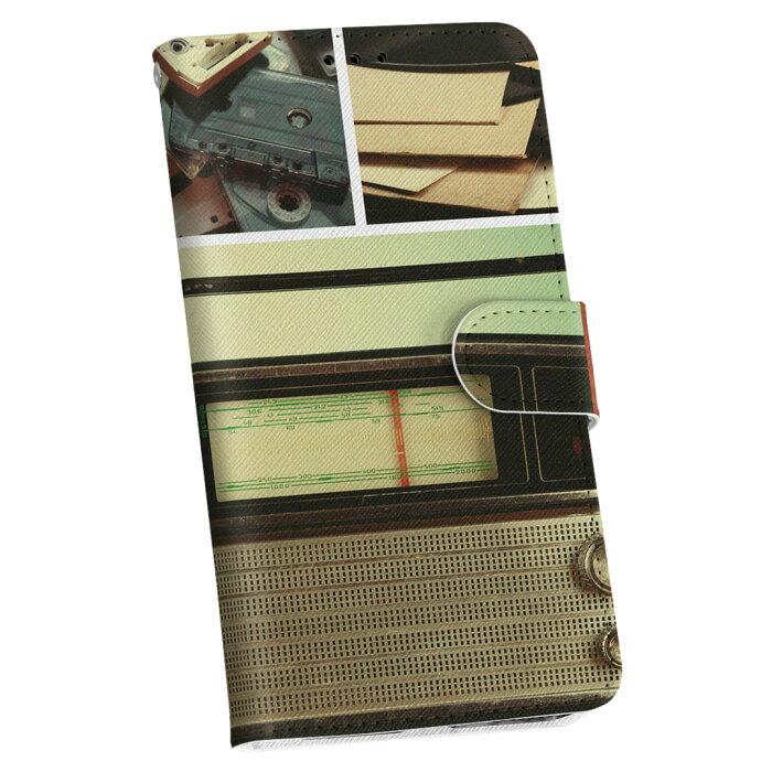 SHL25 AQUOS PHONE アクオスフォン shl25 au エーユー 手帳型 レザー 手帳タイプ フリップ ダイアリー 二つ折り 革 ラジカセ カセット 音楽 010840