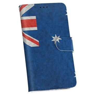 ZC550KL ZenFone Max zc550kl zenfonemax simfree SIMフリー 手帳型 スマホ カバー 全機種対応 あり カバー レザー ケース 手帳タイプ フリップ ダイアリー 二つ折り 革 011713 オーストラリア 外国 国旗