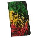 iphone7 iphone 7 softbank ソフトバンク 手帳型 スマホ レザー ケース 手帳タイプ フリップ ダイアリー 二つ折り 革 動物 ライオン レゲエ 011733