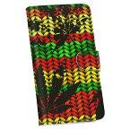 SC-02H Galaxy S7 edge ギャラクシー sc02h docomo ドコモ 手帳型 スマホ カバー カバー レザー ケース 手帳タイプ フリップ ダイアリー 二つ折り 革 011750 レゲエ カラフル 植物