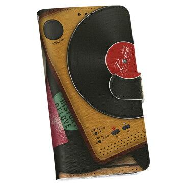 SH-01K AQUOS sense sh01k DOCOMO ドコモ 手帳型スマホ カバー 全機種対応 あり カバー レザー ケース 手帳タイプ フリップ ダイアリー 二つ折り 革 レコード 音楽 love 012796