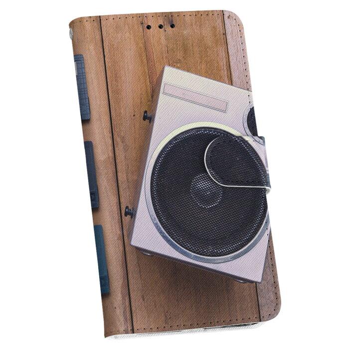 iPhone SE 2020 専用iPhone8 iPhone7 iPhone6/6s 共通 手帳型 スマホ カバー カバー レザー ケース 手帳タイプ フリップ ダイアリー 二つ折り 革 012922 ラジカセ 音楽 カセット