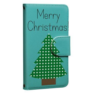 ploom TECH プルームテック 専用 レザーケース 手帳型 タバコ ケース カバー 合皮 ケース カバー 収納 プルームケース デザイン 013708 クリスマス ツリー