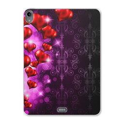iPad Pro 11inch 第3世代 アイパッドプロ 11インチ タブレットケース タブレットカバー TPU ソフトケース A1980 A2013 A1934 A1979 005134 ハート 赤 キラキラ